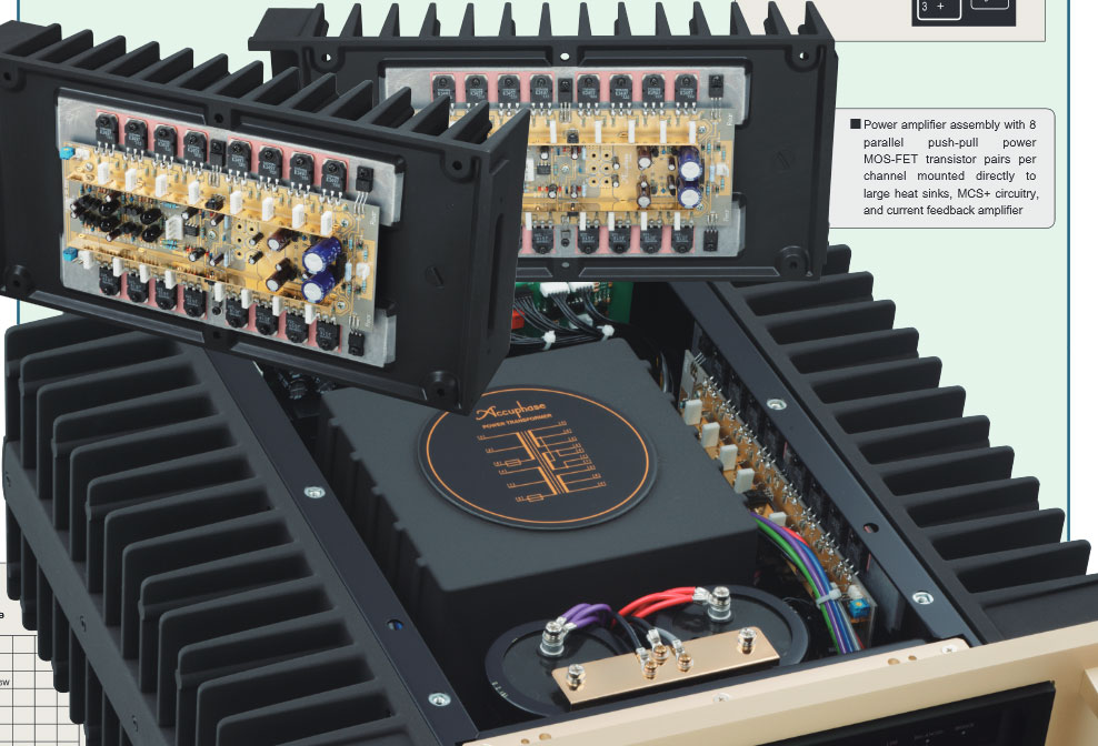 Ampli Accuphase P-6100 2