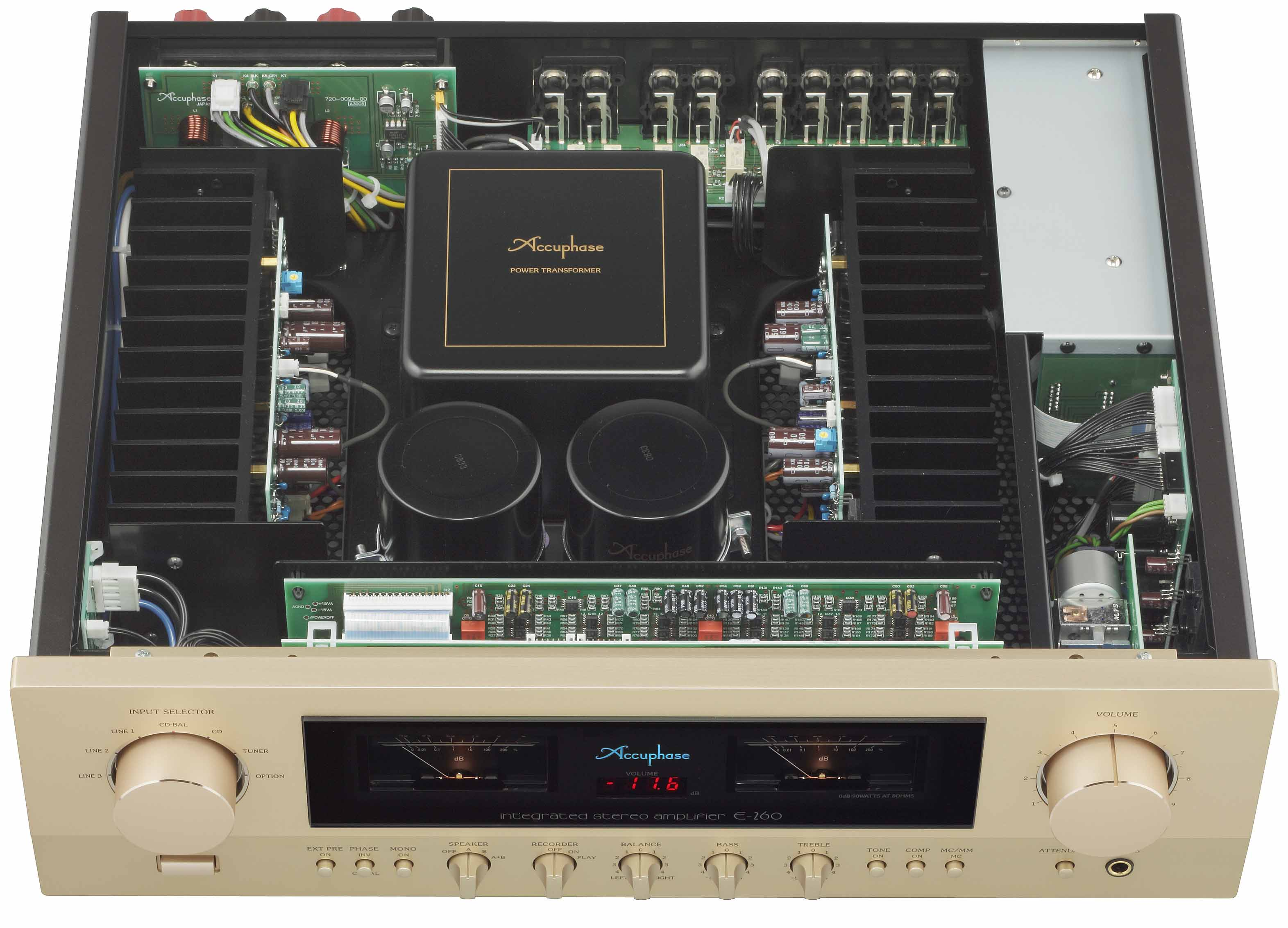 Amply Accuphase C-2120-3