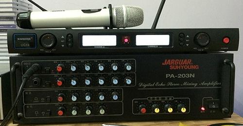 Amply Karaoke Jarguar PA-203N 1