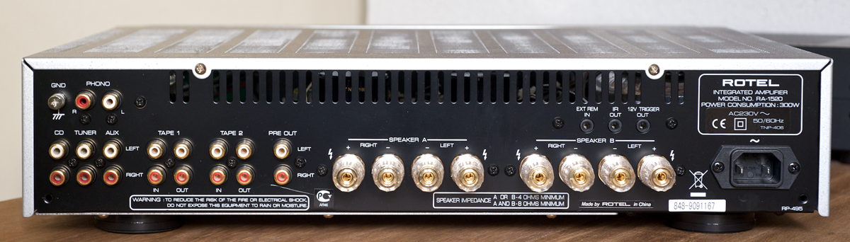 Integrated amplifier RA-1520