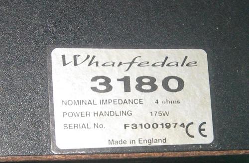 Loa Karaoke Wharfedale 3180