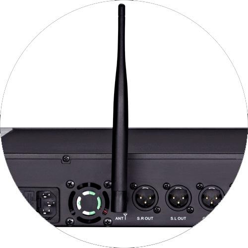 Mixer Karaoke AAP audio K-9600