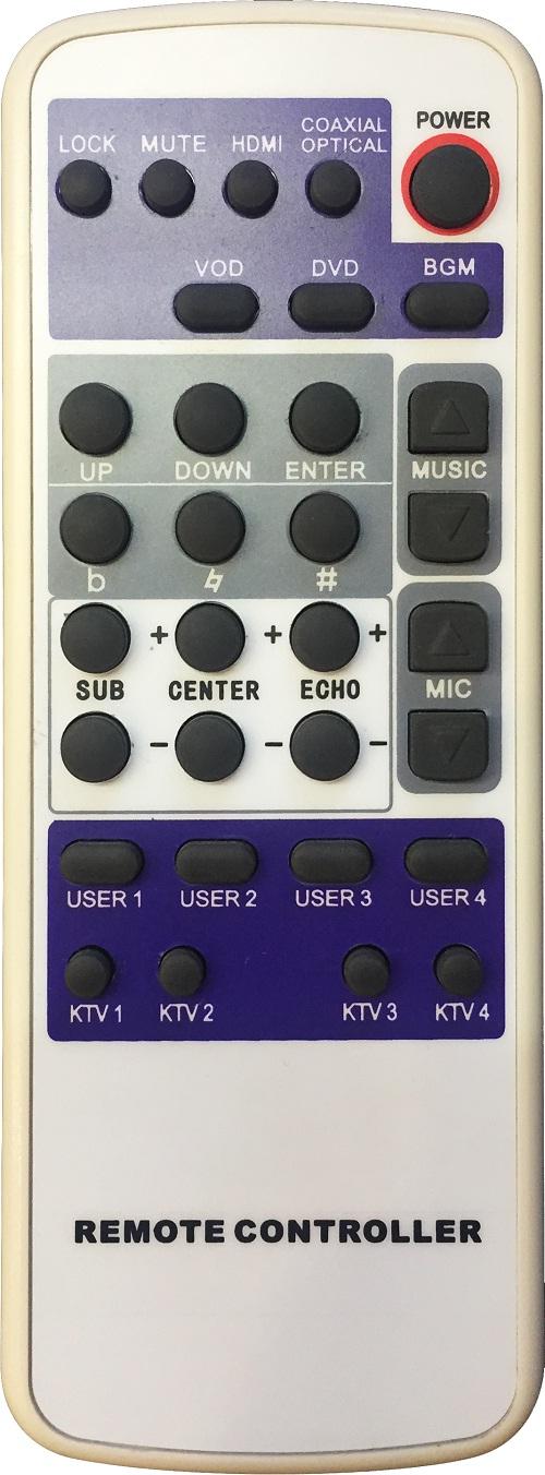 Mixer Karaoke AAP audio K-9600 5