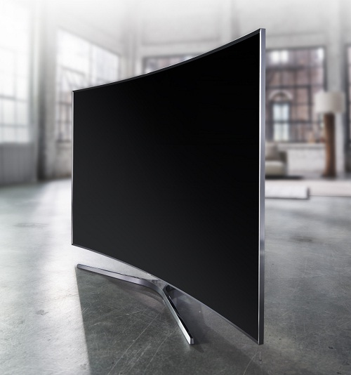 SAMSUNG CURVED 3D LED UA88JS9500K